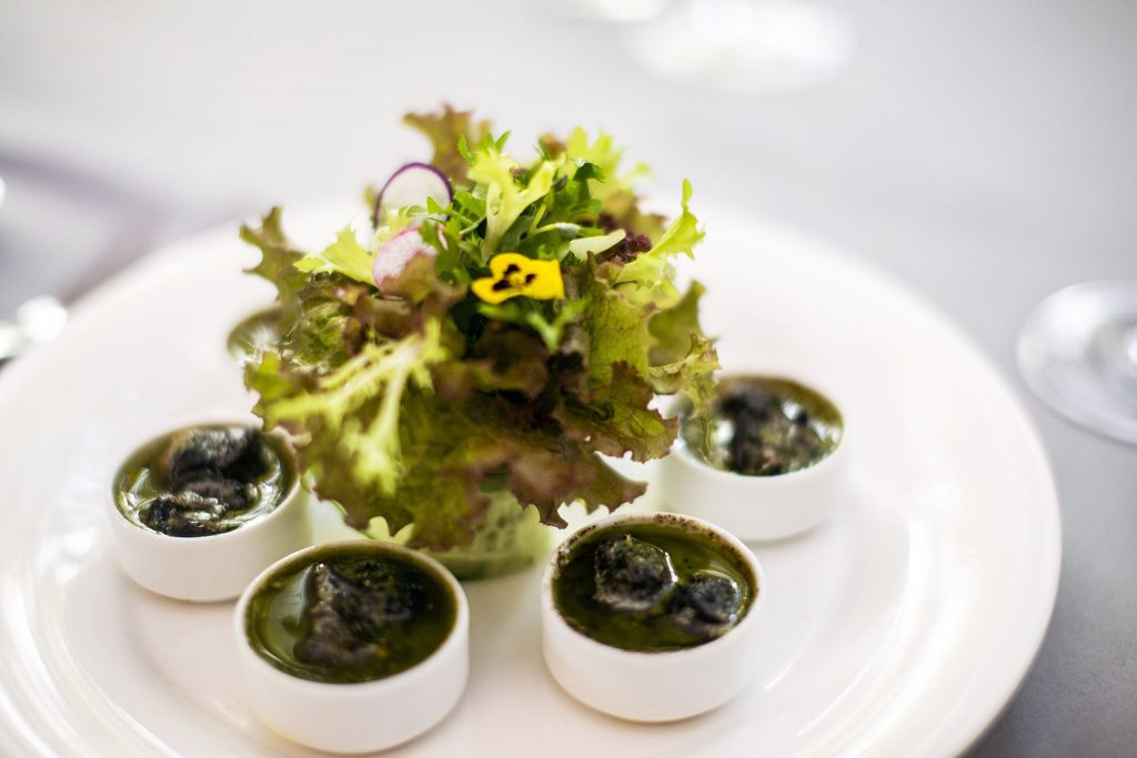 Baked French Escargot