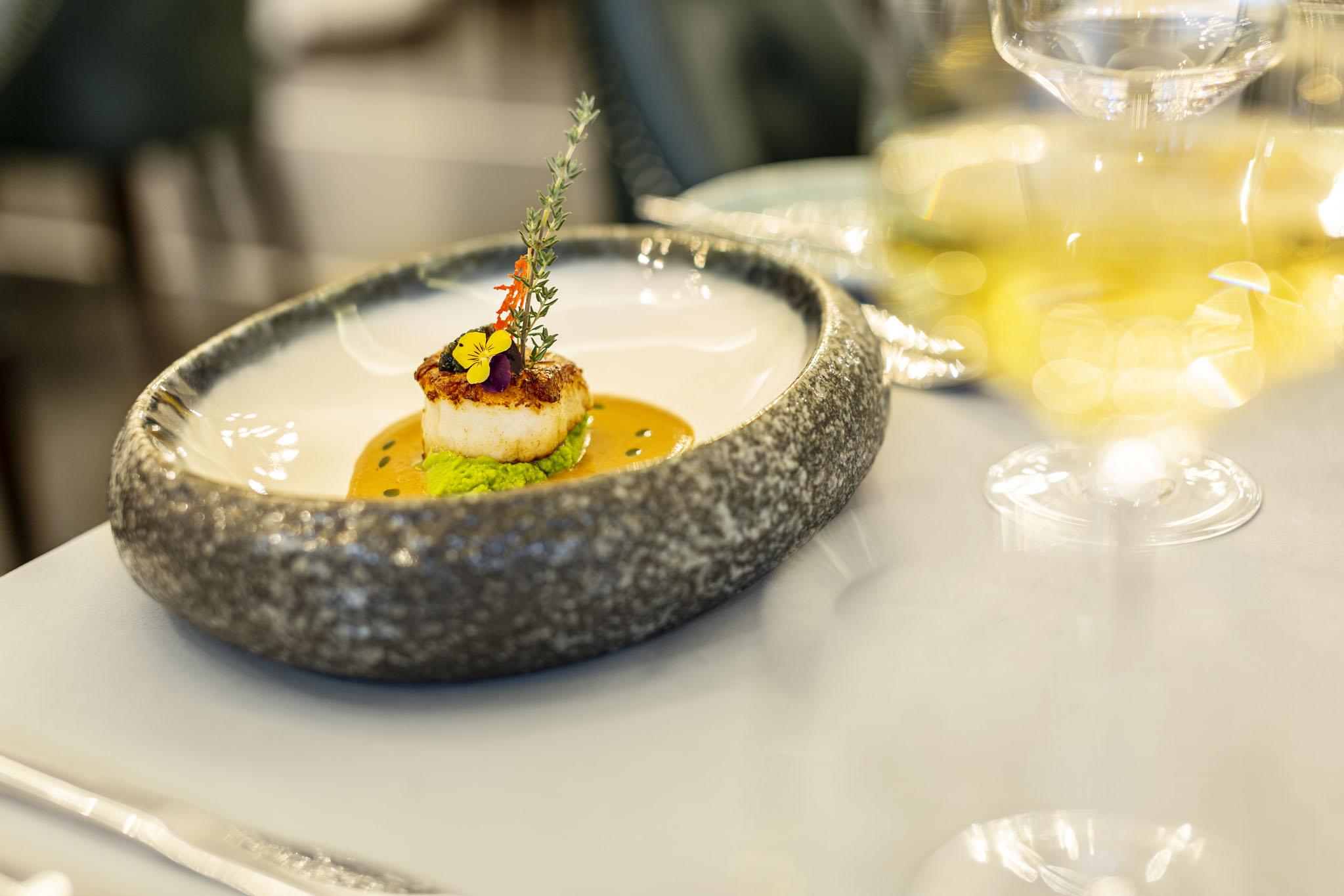 Seared Japanese Sea Scallop & Sturgeon Caviar-1