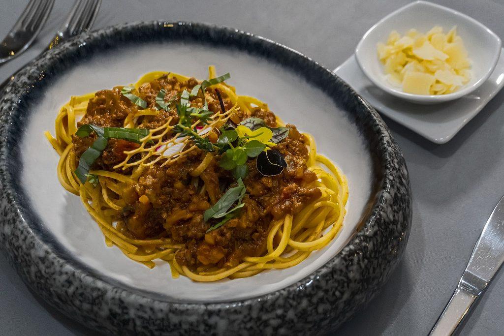 The Temptation-Spaghetti Bolognaise